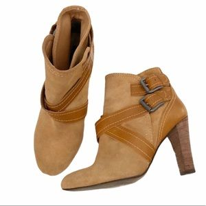 Zara | Suede Ankle Boots